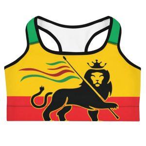 4efc5888f8939 WOKE LION OF JUDAH SPORTS BRA - GP Marley