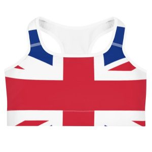 2d11859aee529 GP MARLEY BRITISH UNION JACK FLAG SPORTS BRA