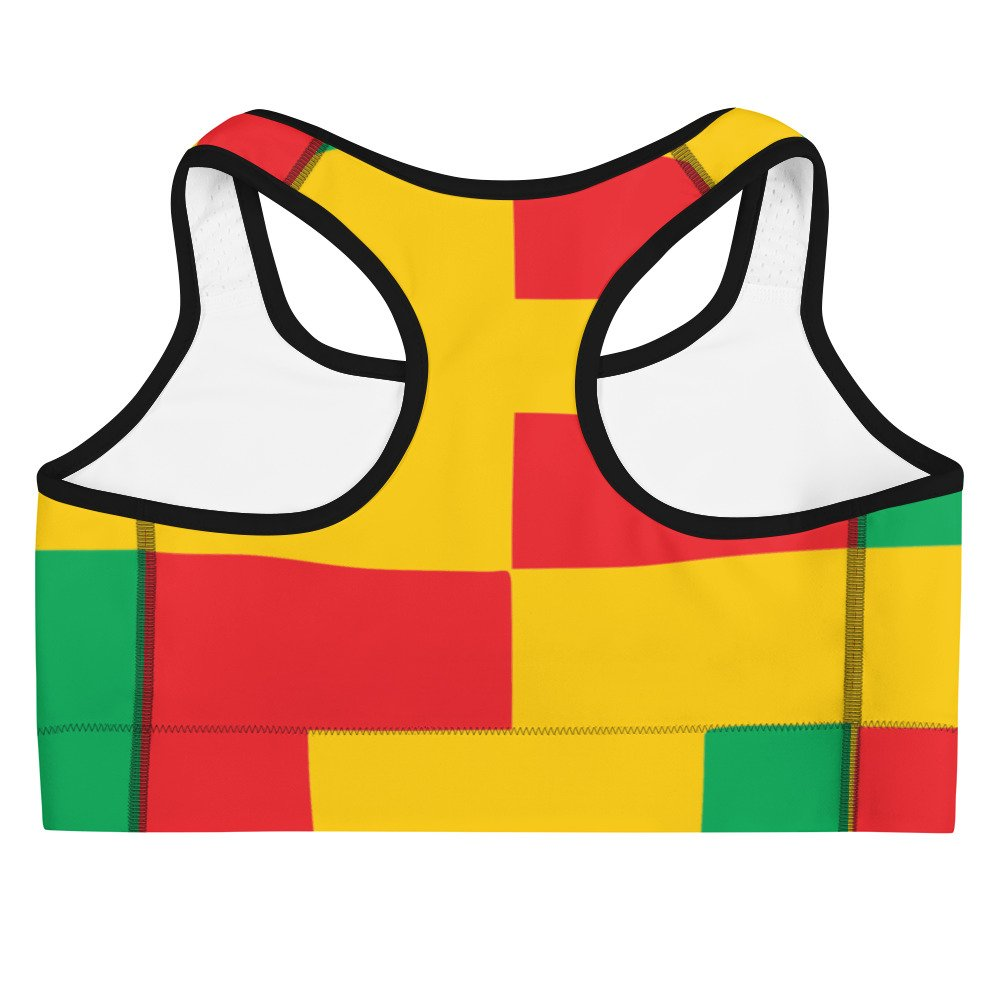 5023c8b732 GP MARLEY KENTE BLOCK SPORTS BRA - GP Marley